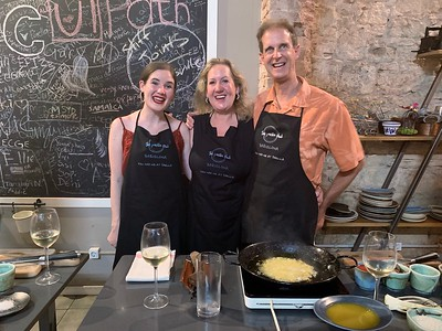 Joan Miro Foundation, Beach, and Paella Cooking Class, Day 4
