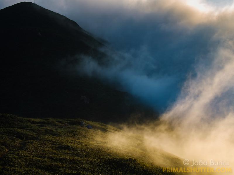 Mountain clouds at Pico Itapiroca