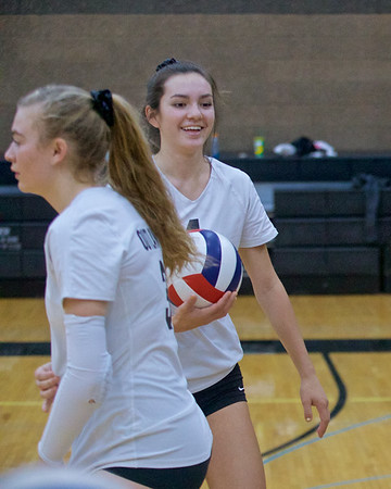 Outlaw Volleyball vs Philomath 10-15-2019