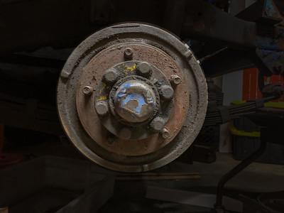 Willys CJ2A Suspension/Brakes Detail