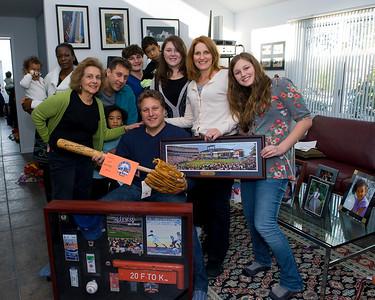Family Celebrates Eric's Birthday Dec. 21, 2009