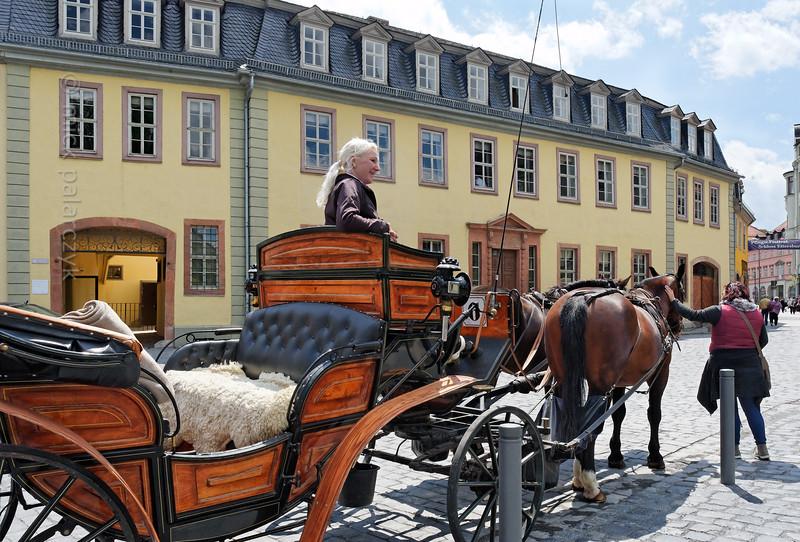 Goethe's House in Weimar.