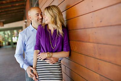 Kurt and Brittany's Engagement Portraits