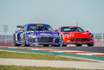 #04 Blue Audi GT4
