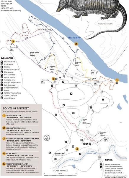 Stephen F. Austin State Park (Trails)