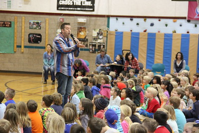 Astronaut Jack Fischer visit to Louisville Elementary 2017-11-17