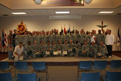 NCO/SOY award ceremony