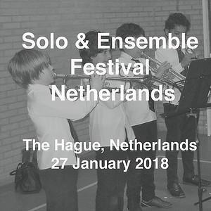 Solo & Ensemble Festival, The Netherlands
