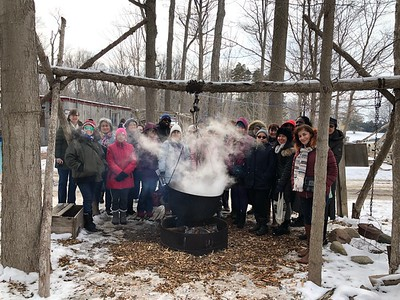 London & Cambridge: History, Butterflies & Maple Syrup Farm Tour • Mar 2, 2019