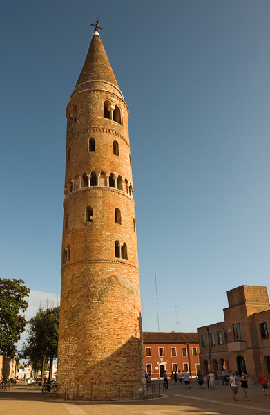 Bell Tower of Duomo (Cathedral), Caorle, Italy