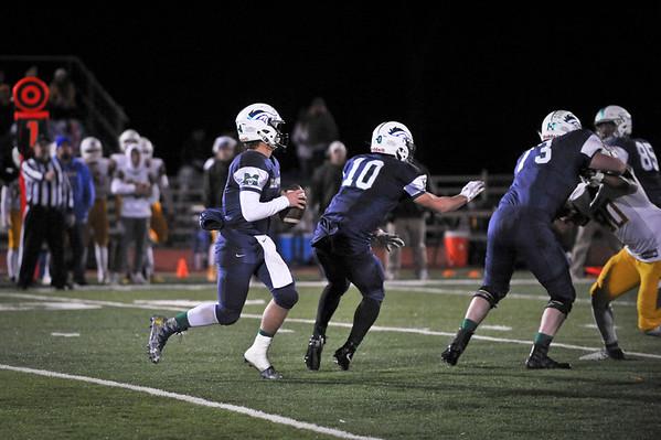 Marquette Varsity Football vs Kickapoo 11/1/19 Win 42-7
