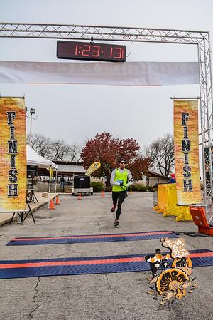 Finish - Half Marathon