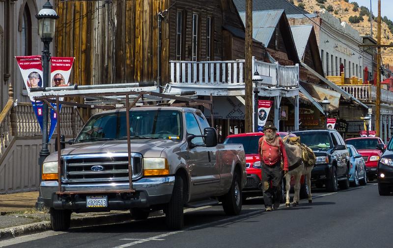 The Old Prospector in Virginia City NV