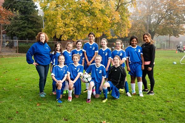 6th Girls Soccer 2018 OLF