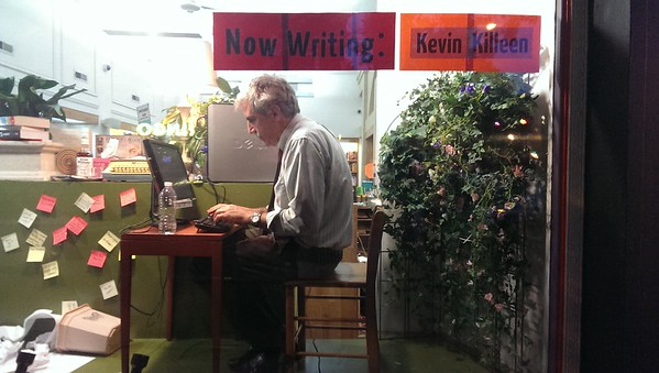 Writers Under Glass - July 2014