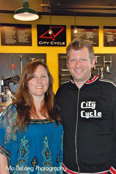 Lisa and Cory Farrer