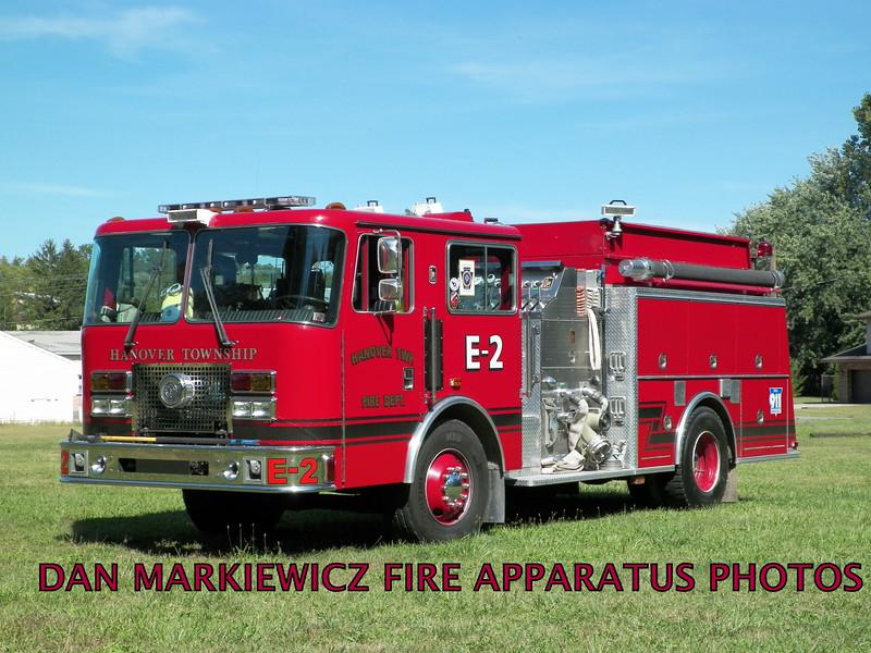 HANOVER TWP. FIRE DEPT.