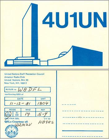 W8DFL QSL Cards - 6/27/2011