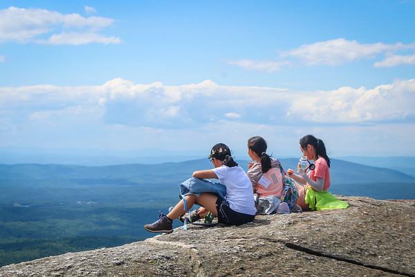 July 21: Climbing Mt. Cardigan