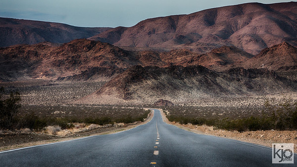 California Desert Road