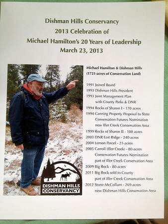 Dishman Hills Conservancy 2013 Celebration