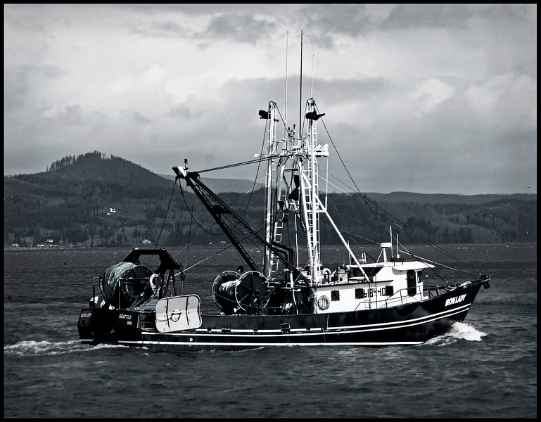 Astoria OR Fishing Boat