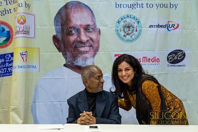 Padma Bhushan Maestro Ilaiyaraaja & K.S. Chitra - Meet & Greet 2016 Bay Area