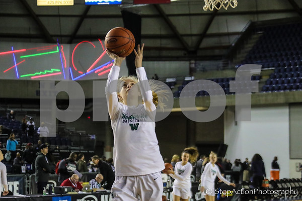 2020-03-05 Woodinville Girls Basketball vs Todd Beamer