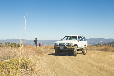 Off roading in Pozo