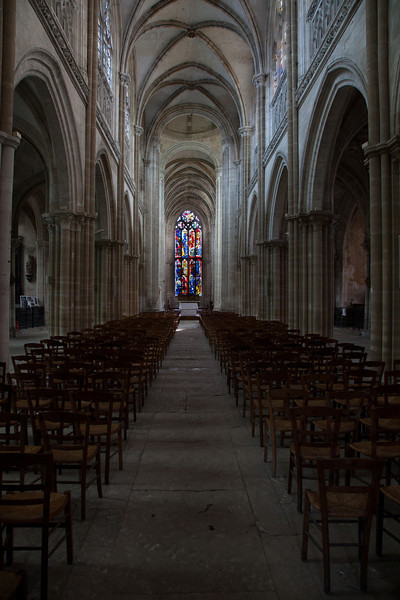 Les Andelys,  Notre-Dame Collegiale Nave and Choir