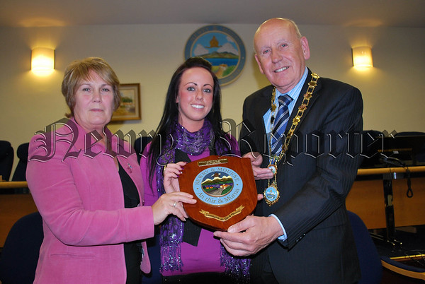 Council Reception for members of PIPS Newry and Mourne Skydiving Team