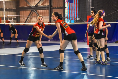 Mt Olive Girls Travel Volleyball at PowerZone Volley Ball Center Oct. 24, 2015
