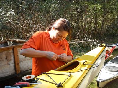 2019 Mar 30 Kayak Repair