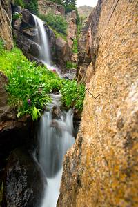 Falls along Booth Creek, CO