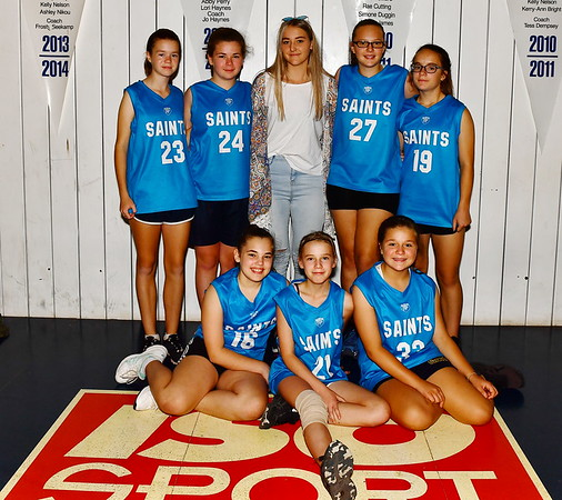 Renmark Local Comp Saints Girls Team