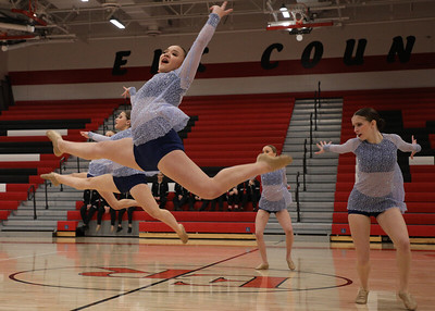 Northwest Suburban Conference Championships, Dec. 15, 2018. Elk River High School. Photo by Matt Blewett