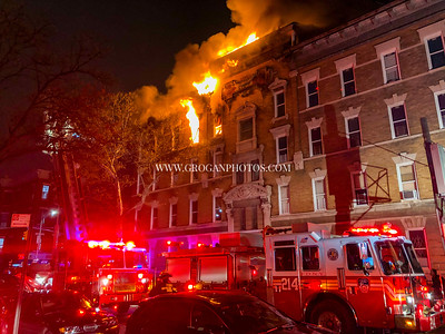 Brooklyn 3rd Alarm Box 901 585 Quincy St 4/19/20