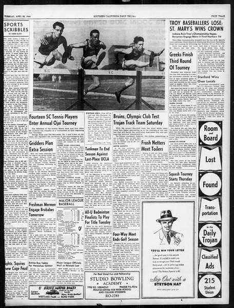 Daily Trojan, Vol. 31, No. 130, April 23, 1940