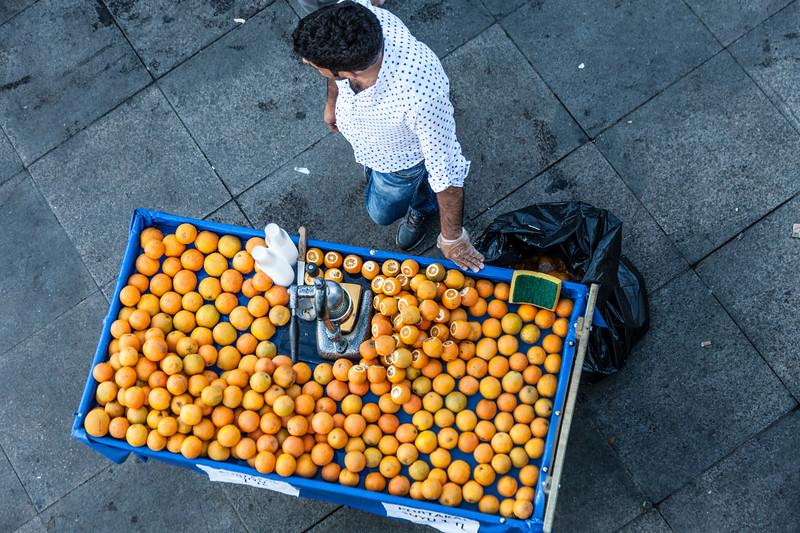 orange stop