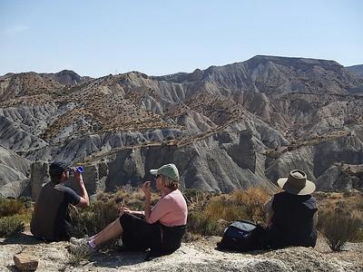 Tabernas Desert Badlands May 2013