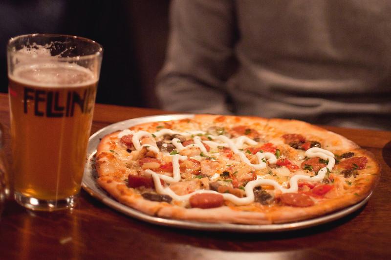 Fellini's, Bourbon Street Pizza