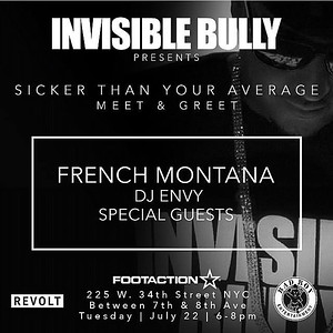 INVISIBLE BULLY-Presents Sicker Than Your Average Meet & Greet