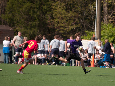 Freshmen vs. Calvert Hall 4-14