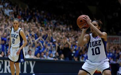 02/25/07 - NCAA Women: Duke Blue Devils vs UNC Tarheels