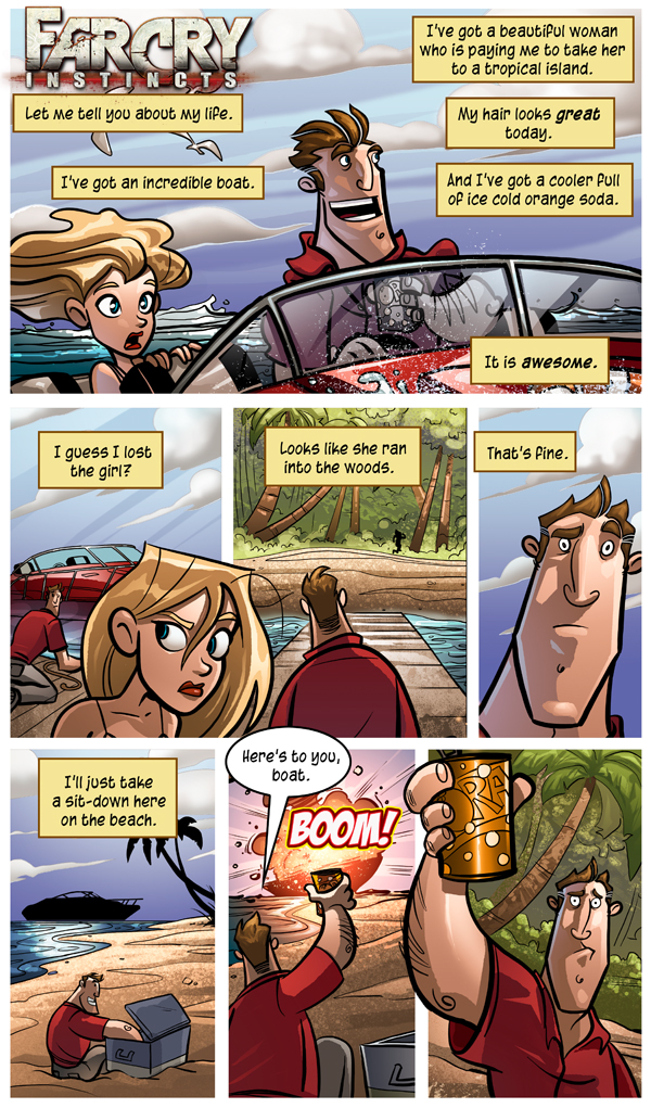 Far Cry Instincts Page 1