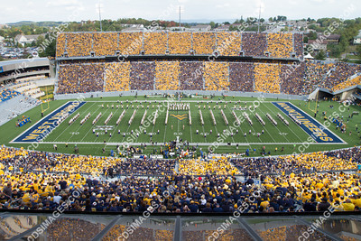 2012 Homecoming Weekend - WVU vs Baylor