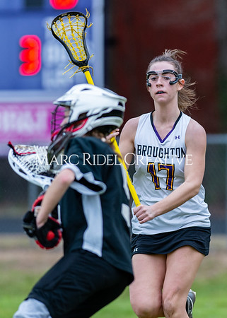 Broughton girls varsity lacrosse vs Middle Creek. February 28, 2020. D4S_0316