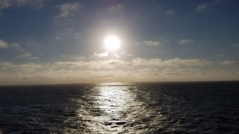 June 1 - At Sea on the Quest