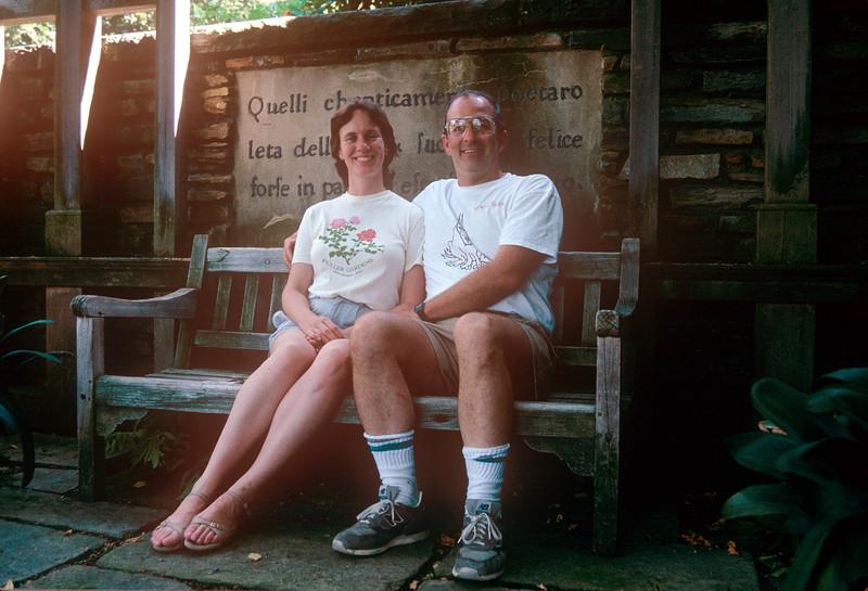 1990-09 Dunbarton Oaks John & Chris.jpg