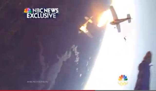 """. <p>10. (tie) SKYDIVING <p>The tricky part is avoiding any flaming fuselage in the neighborhood. (unranked) <p><b><a href=\'http://www.nbcnews.com/video/nightly-news/53461411/#53477879\' target=\""""_blank\""""> HUH?</a></b> <p>   (Photo from NBC News video)"""